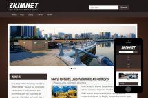 zKimnet Free Html5 Website Template