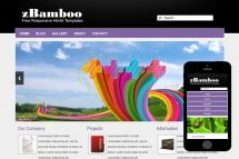 zBamboo Free Html5 Website Template