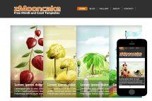 zMooncake Free Html5 Website Template
