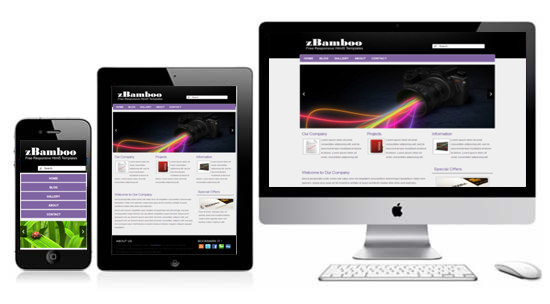 Zbamboo free html5 templates free responsive themes zbamboo free responsive html5 theme maxwellsz