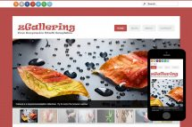 zGallering Free Html5 Website Template