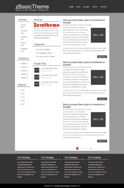 zBasicB005 Free Html5 Responsive Template