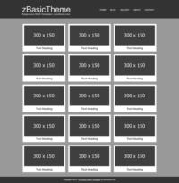 zBasicG001 Free Html5 Responsive Template [320x200]