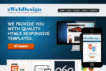zWebdesign Free Html5 Website Template