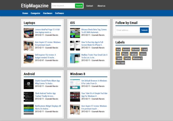 etipmagazine free blogger responsive templates