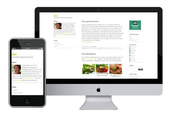 Ari free responsive html5 themes