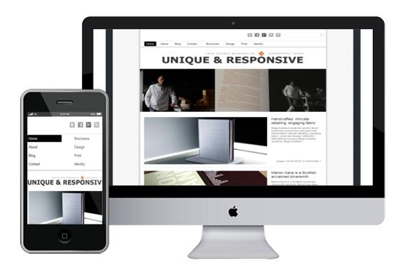 Unique Free Responsive Html5 WordPress Theme