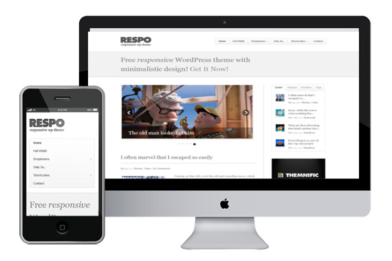 respo responsive wordpress theme