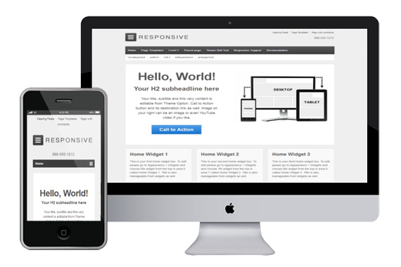 responsive html5 wordpress templates