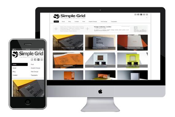 simplegrid free responsive html5 themes