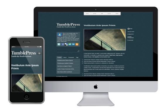 tumblepress free responsive html5 templates
