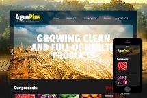 zAgroPlus Free Html5 Website Template