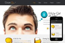 zStartUp Free Html5 Website Template