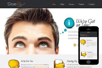 zStartUp Free Html5 Website Template