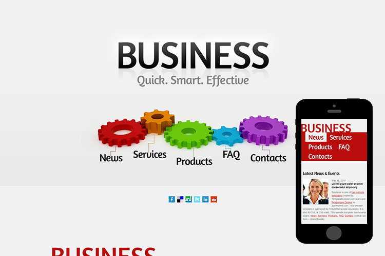 zBusiness – Free Responsive Html5 Theme