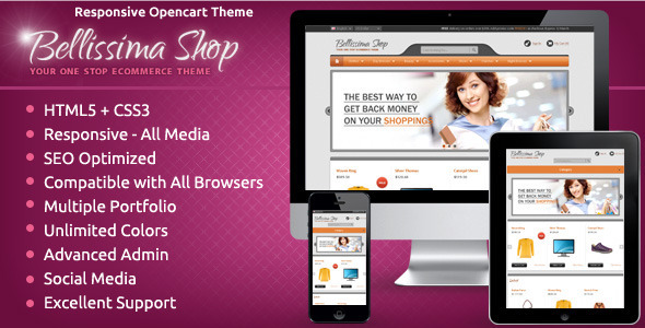 Bellissima - OpenCart Responsive Theme
