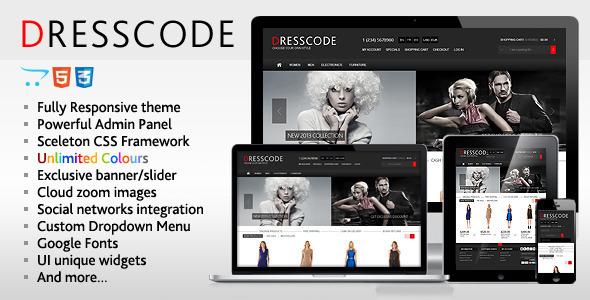Dresscode - Responsive OpenCart Theme