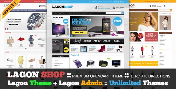 LagonShop - Premium Opencart Theme - Zerotheme