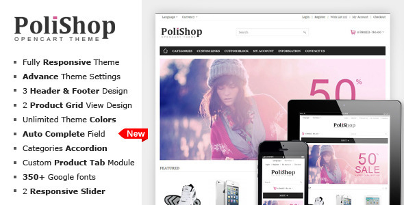 Polishop - Responsive OpenCart Theme
