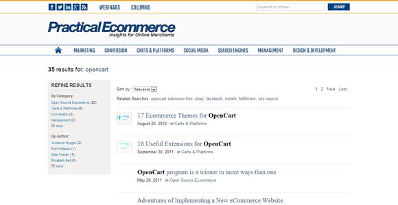 Practical Ecommerce