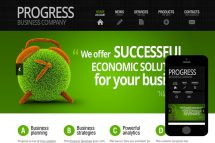 zProgress Free Html5 Website Template