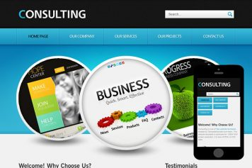 zConsulting Free Html5 Website Template