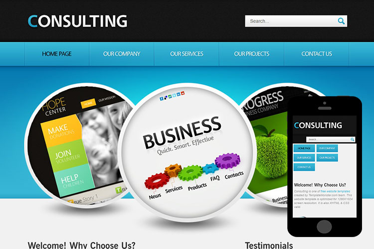 zConsulting – Free Responsive Html5 Theme