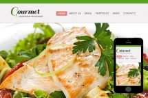 zGourmet Free Html5 Website Template
