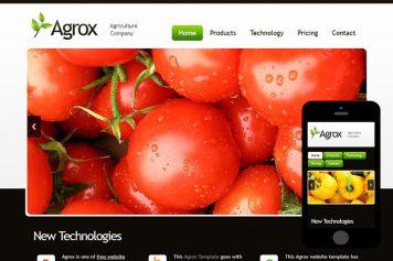 zAgrox Free Html5 Website Template