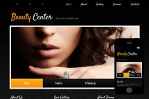 zBeautyCenter Free Html5 Website Template