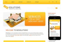 zBiz Free Html5 Website Template