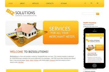zBiz Free Html5 Website Template