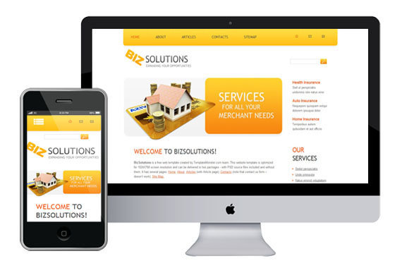 zBizsolutions free responsive html5 templates themes
