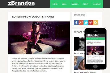 zBrandon Free Html5 Website Template