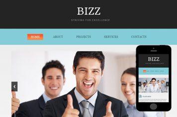 zBizz Free Html5 Website Template
