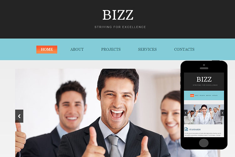 zBizz Free Html5 Website Template