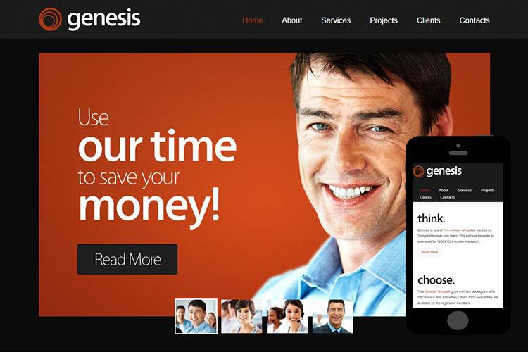 zGenesis – Free Responsive Html5 Theme