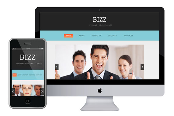 zbizz free responsive html5 css3