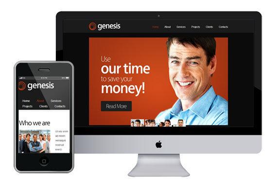 zgenesis free responsive html5 themes templates