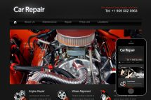 zCarRepair Free Html5 Website Template