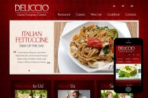 zDeliccio Free Html5 Website Template