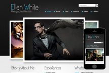 zPhotographer Free Html5 Website Template