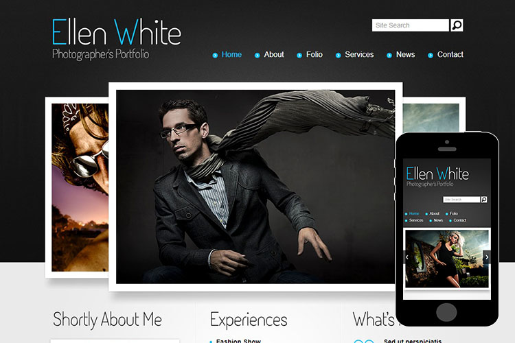 zPhotographer – Free Responsive Html5 Theme