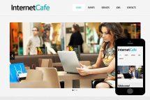 zCafe Free Html5 Website Template