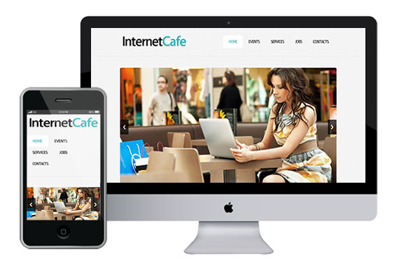 zCafe free html5 responsive themes