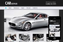 zCar Free Html5 Website Template