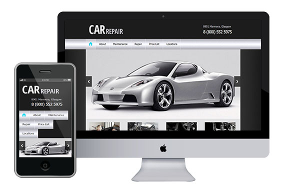 zCar free responsive html5 themes