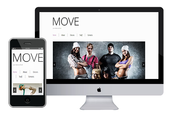 zMove free responsive html5 css3 themes