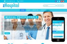 zHospital Free Html5 Website Template
