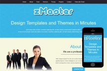 zMaster Free Html5 Website Template